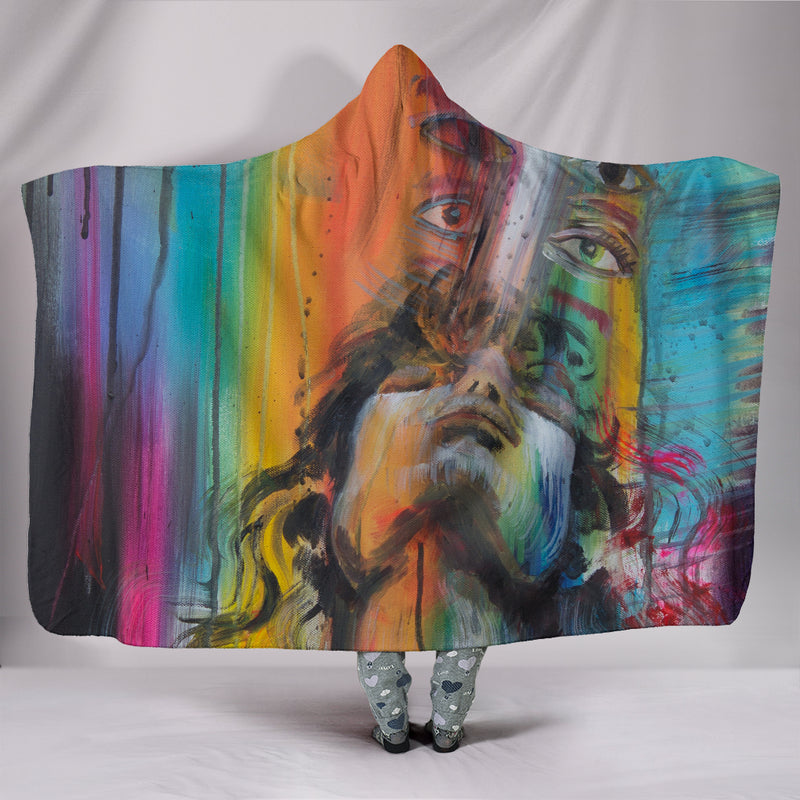 Inside My Spirituality - Hooded Blanket