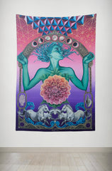 The Gate of Knowledge - Wall Tapestry