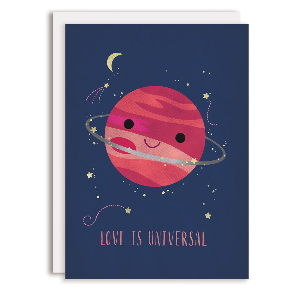 RD0217 - Love is Universal (Planet) Card