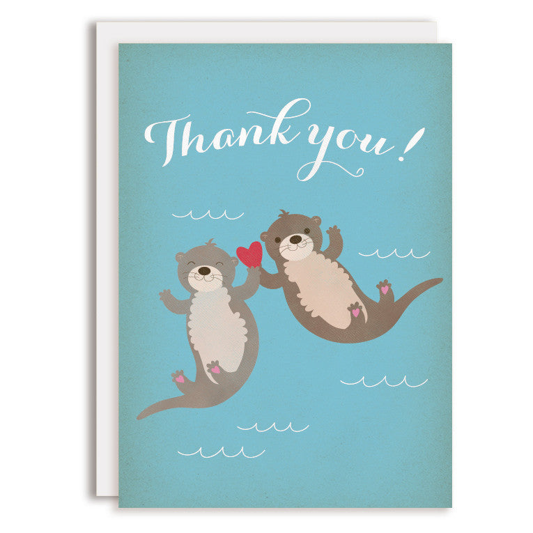 RD0039 - Thank You - Otters