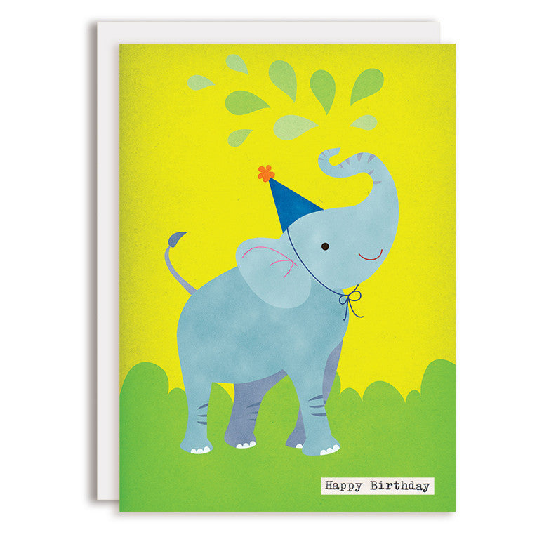 RD0056 - Happy Birthday - Elephant