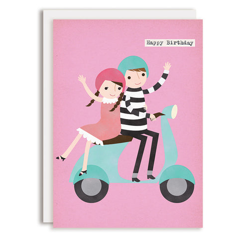 RD0057 - Happy Birthday - Moped