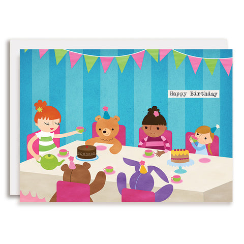 RD0059 - Happy Birthday - Tea Party