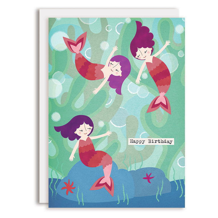 SAMPLE RD0063 - Happy Birthday - Mermaids