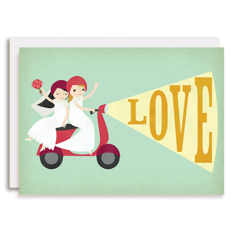 RD0067 - Moped LOVE - Brides