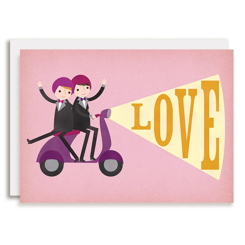 RD0068 - Moped LOVE - Grooms