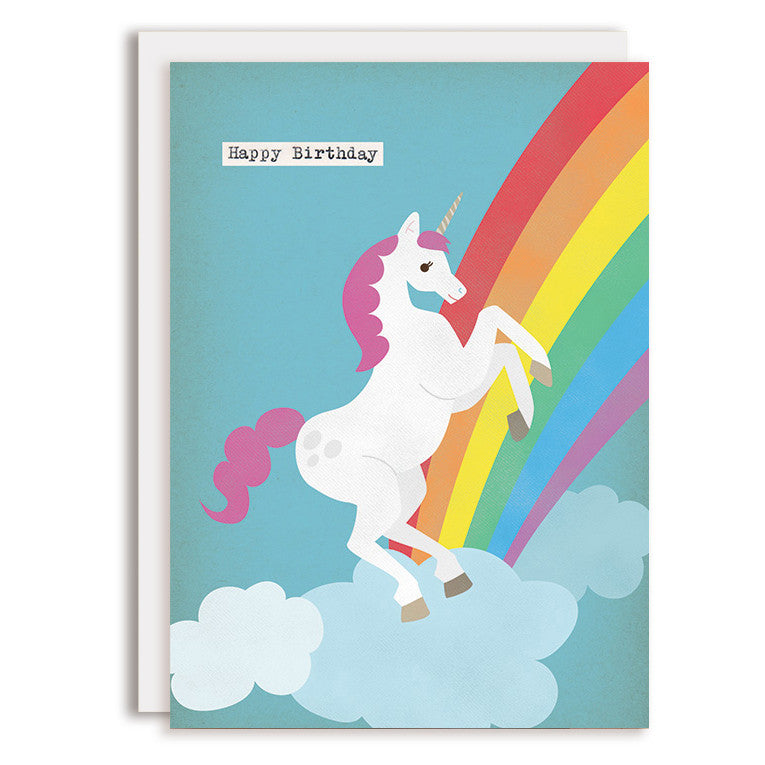 RD0081 - Happy Birthday - Unicorn