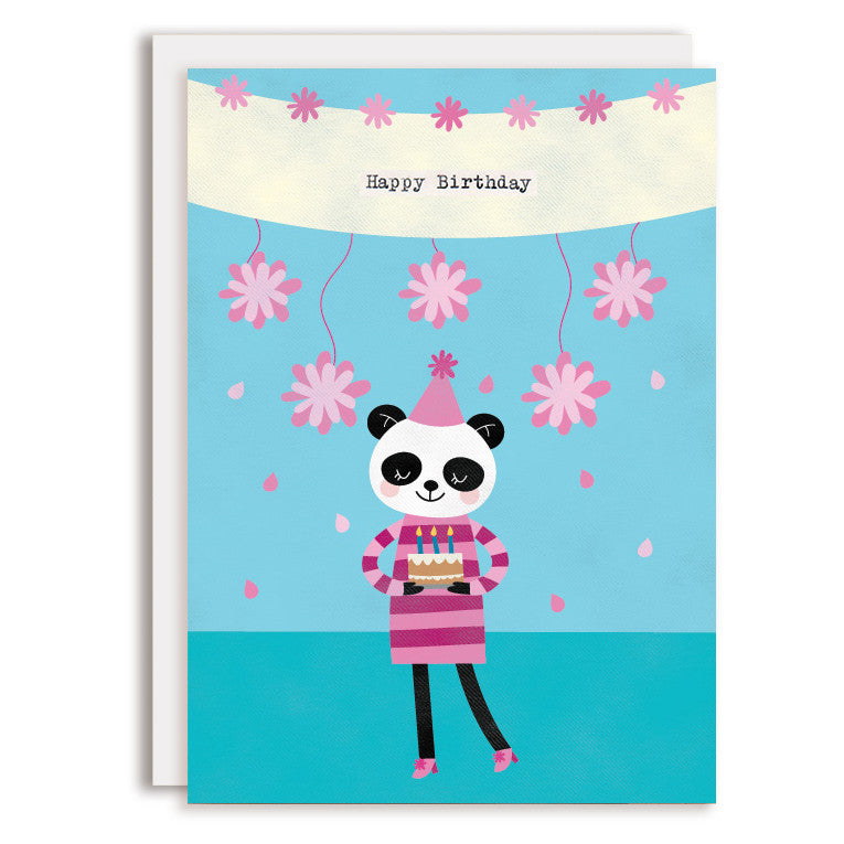 RD0082 - Happy Birthday - Panda Girl
