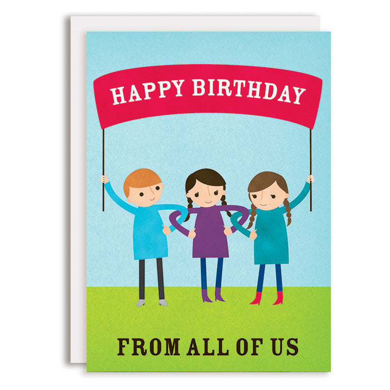 RD0111 - Happy Birthday - All of Us