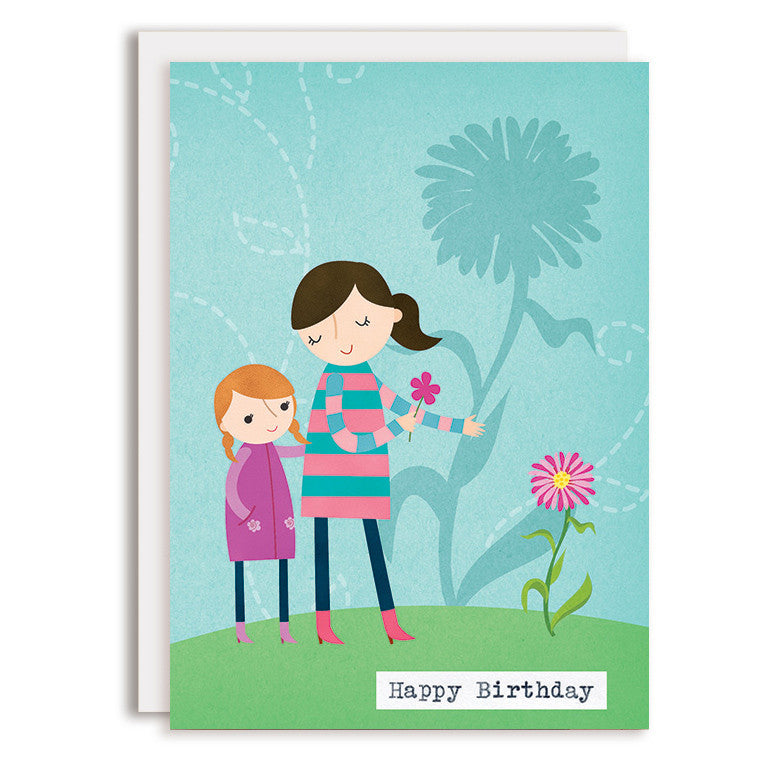 RD0115 - Happy Birthday - Growing Flower