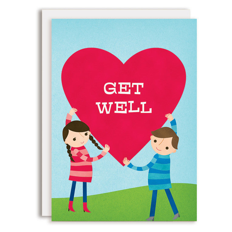 RD0140 - Get Well - Big Heart