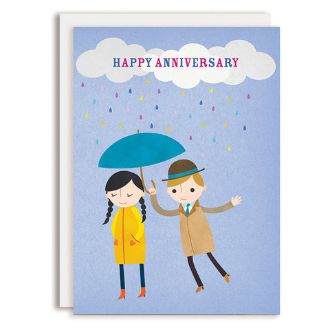 RD0145 - Happy Anniversary - Rainy Day