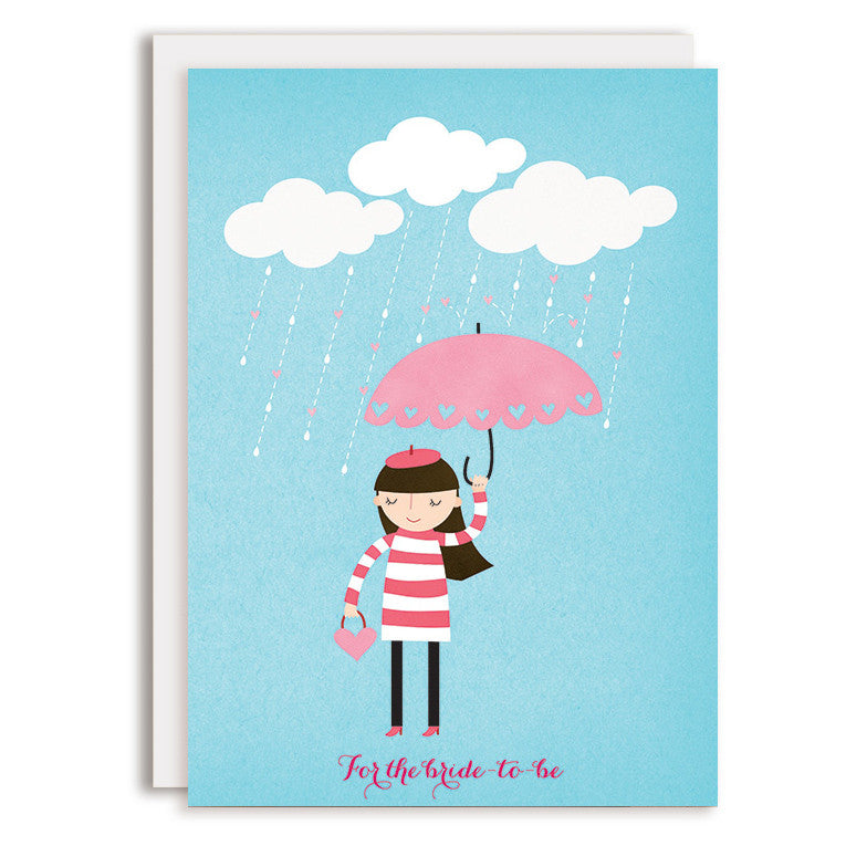 RD0151 - Bride-to-Be - Pink Umbrella