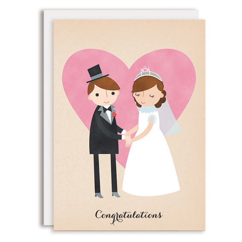 RD0153 - Congratulations - Bride & Groom