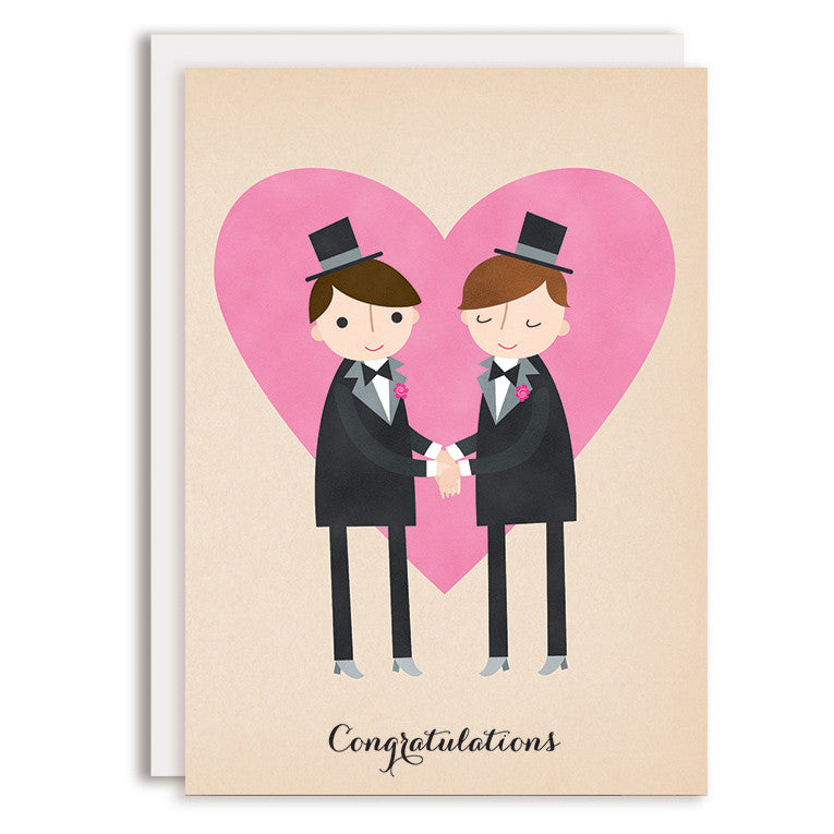 RD0155 - Congratulations - Groom & Groom