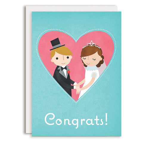 RD0156 - Congrats - Bride & Groom