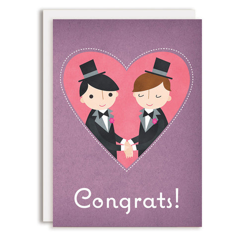 RD0158 - Congrats - Bride & Groom