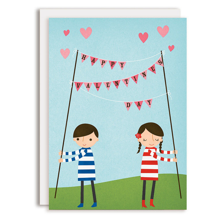 SAMPLE RD0166 - Happy Valentines - Bunting