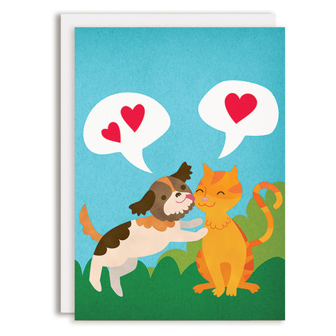RD0171 - Kisses - Cat & Dog