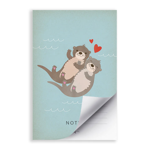 RDN004 - Otterly Lovely - 5.5x8.5 Notepad - MOQ: 5