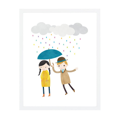 RDP003 - Rainy Day Love 1 - 8x10 Art Print - MOQ: 3