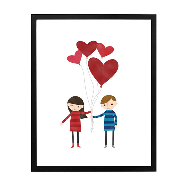 RDP006 - Love is in the Air 2 - 8x10 Art Print - MOQ: 3
