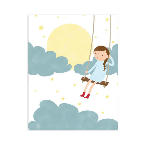 RDP007 - Moonlight Swing - 8x10 Art Print - MOQ: 3