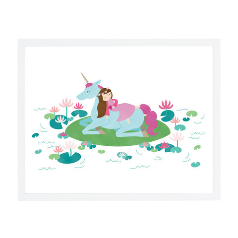 RDP008 - Sleeping Beauty - 8x10 Art Print - MOQ: 3