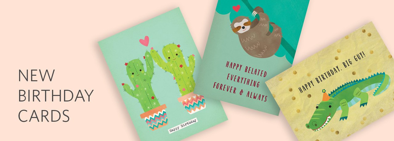 New Birthday Cards by Rosy Designs