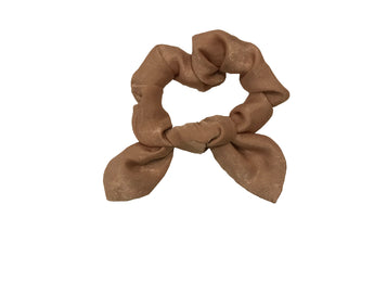 GOLD SHIMMER BOW SCRUNCHIE