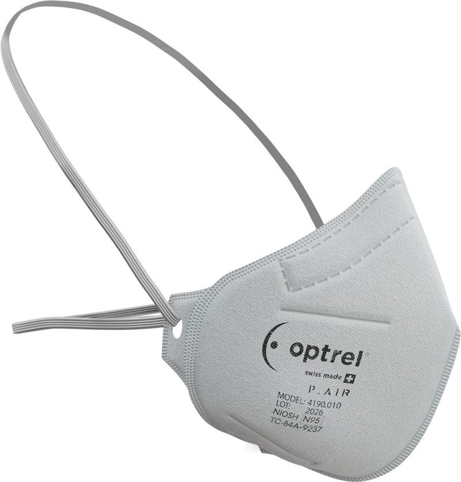 Optrel P.AIR N95 Swiss Made Respiratory Mask (10 pack)