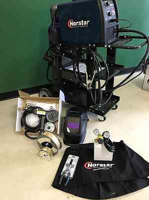 ULTIMATE MIG PACKAGE Coplay-Norstar Dual Voltage Input MIG Welder Package M200