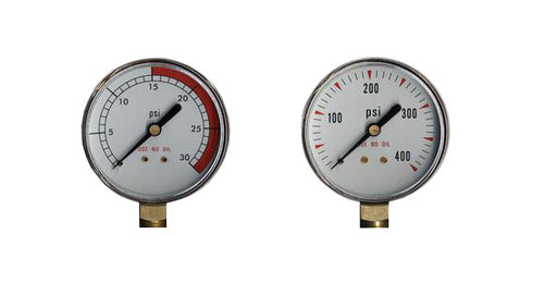 "Regulator Repair Replacement Gauges For Acetylene -2"" x 30 psi & 400 psi Welding"