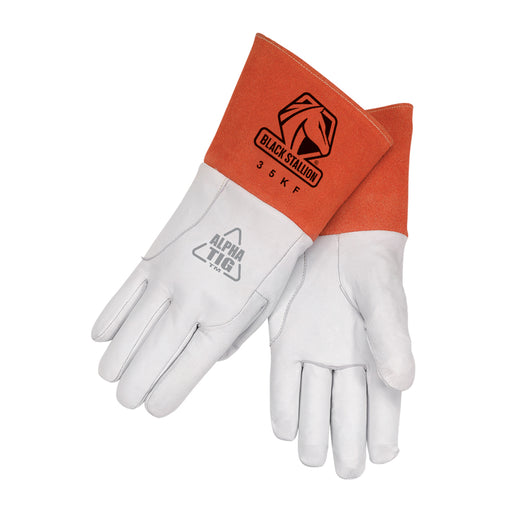 BLACK STALLION 35KF ALPHA TIG WELDING GLOVE Lined