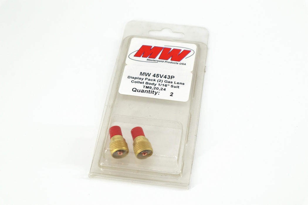 "20 series gas lens- 1/16"" package of 2"