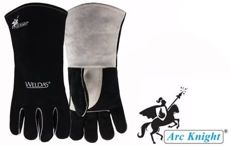 Weldas 10-2025L Arc Knight Stick Welding Gloves, fully COMFOflex Lined (1 Pair) Large