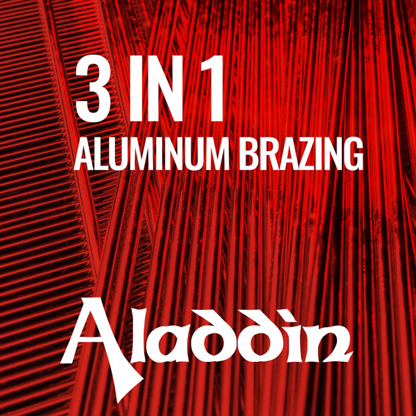 "Aluminum Brazing 3/32"" x 18"" Aladdin 3-in-1 - 30 rods (1 lb)"