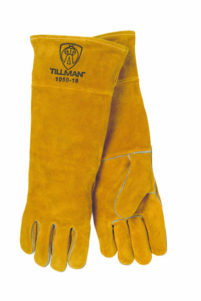 New: John Tillman 1050 Series Premium Split Cowhide Welding Glove