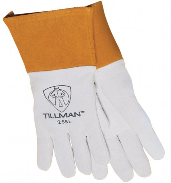 NEW: John Tillman 25B Leather Split Deerskin Kevlar Sewn Tig Welding Glove