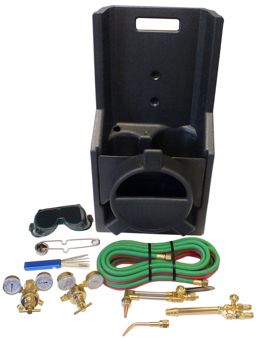 Welding and Cutting Kit, Portable Victor Style CGA540/MC CGA200 (with 15 ft. hose)