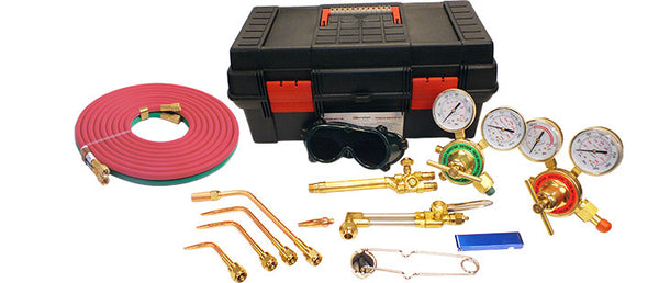 Victor Style Torch Kit Welding and Cutting Medium Duty CGA 540/510