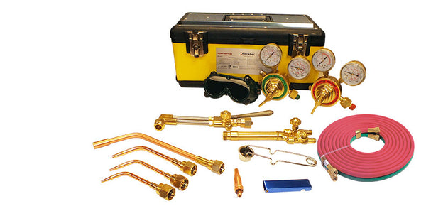 Victor Style Torch Kit Welding and Cutting Heavy Duty CGA 540/510
