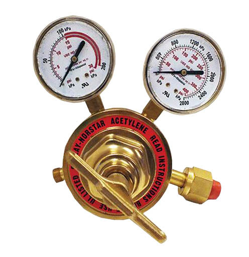 Heavy Duty Acetylene Regulator CGA 510