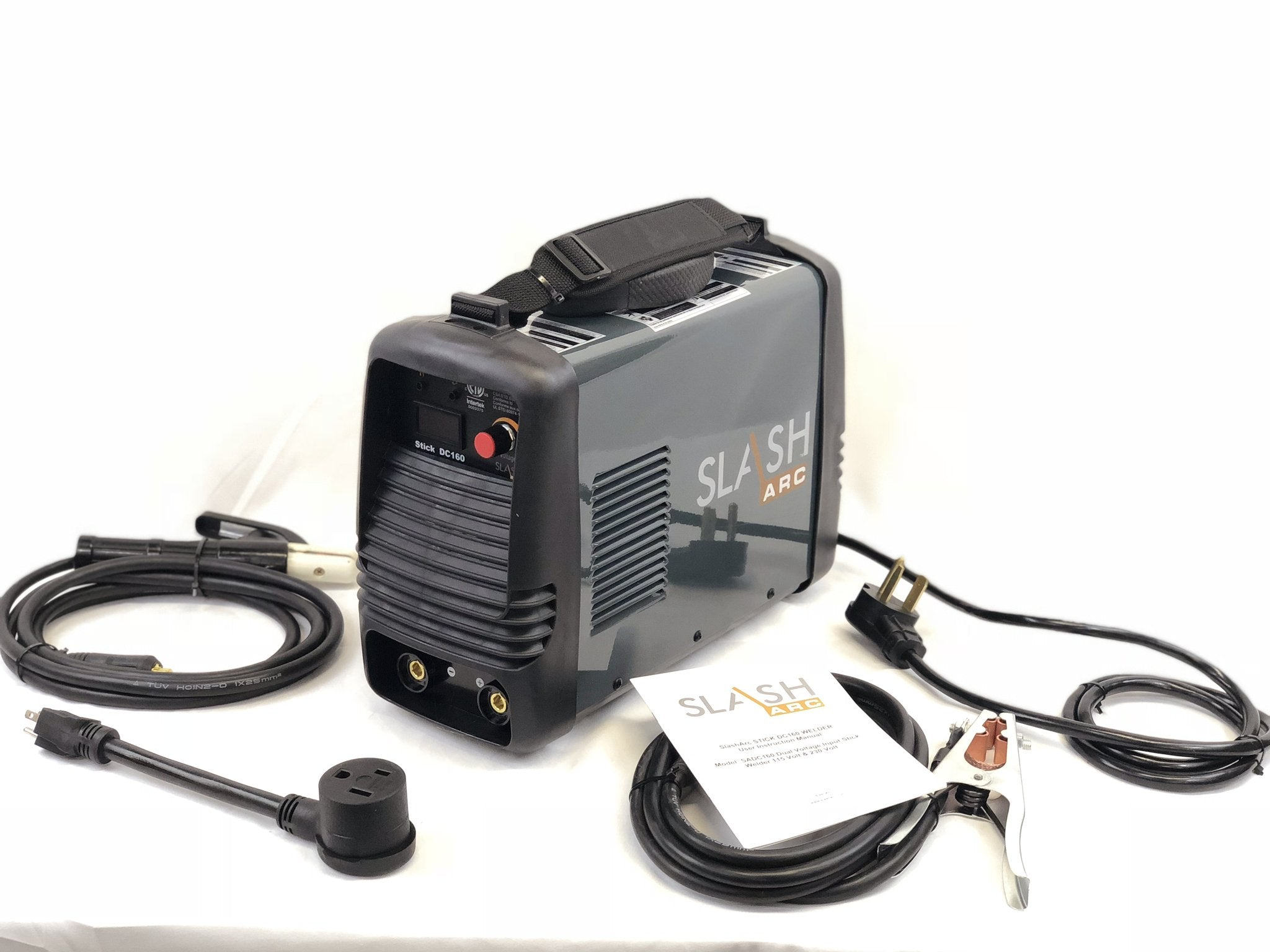 SlashArc DC 160 Dual voltage input Stick Welder package 115/230v 1 ...