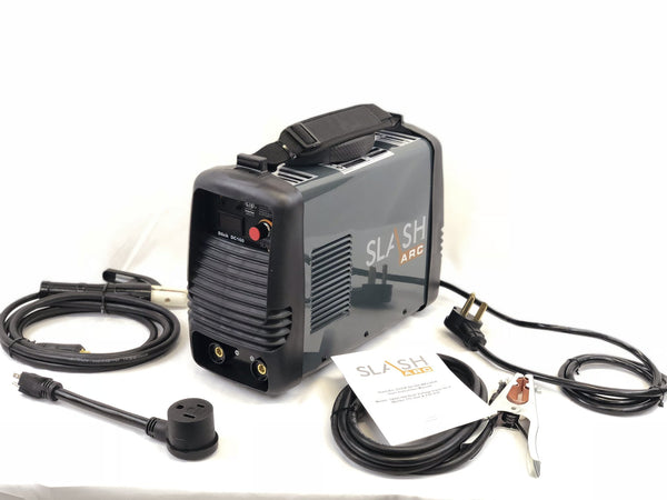 SlashArc DC 160 Dual voltage input Stick Welder package 115/230v 1 year warranty