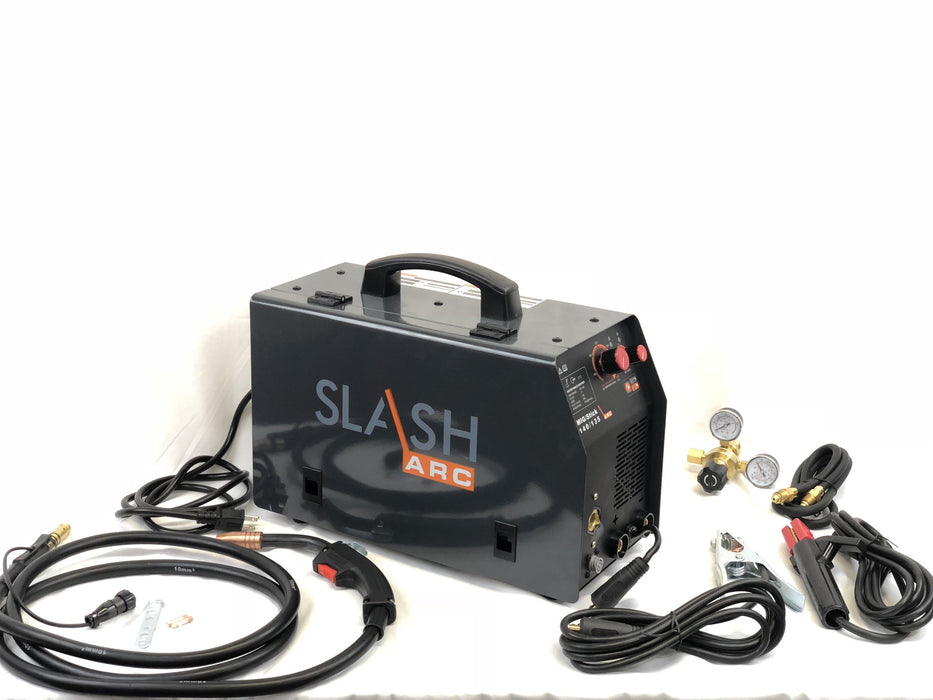 Multiprocess SlashArc Mig Stick Welder 140/135 amp 115v welding machine 3 year warranty
