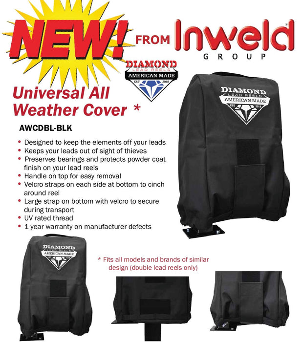 Universal All Weather Welding Lead Reel Cover