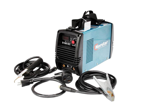 Coplay-Norstar DC 160 Dual voltage input Stick Welder package! 1 yr war.
