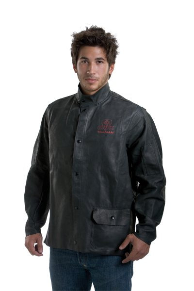 "NEW: John Tillman 3930 30"" Onyx Heavy Duty Top Grain Cowhide Welding Jacket"