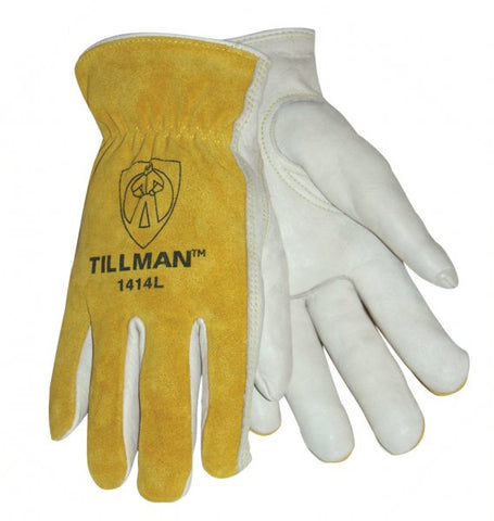 NEW: John Tillman 1414 Top Grain/Split Cowhide Drivers Gloves
